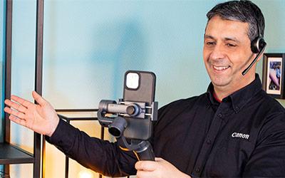 Canon Live-Beratung: Einkaufserlebnis durch Live-Berater*in
